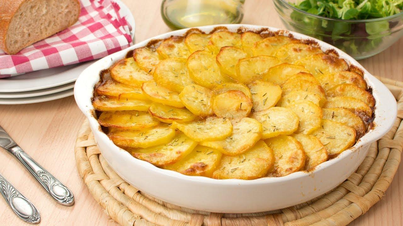 Pastel De Carne Picada Con Patatas Y Queso