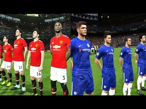 Manchester United vs Chelsea   Premier League 25 February 2018 Gameplay