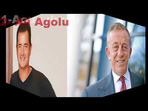 Türkiyenin En Zengin 5 Adamı 2017 !