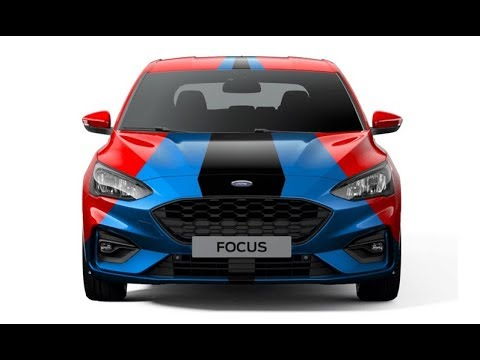 2019 Ford Focus ST-Line Color - YouTube
