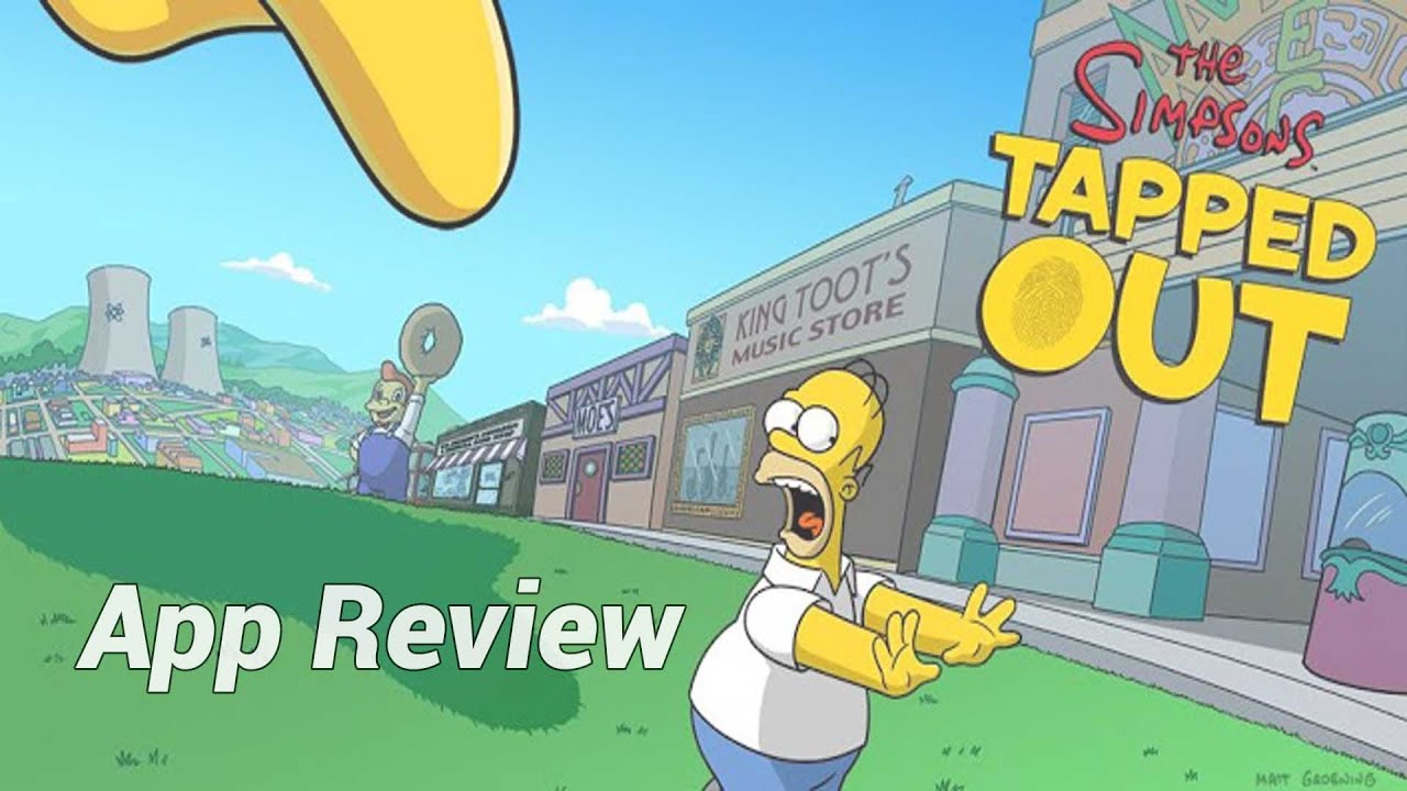 App Review: The Simpsons Tapped Out