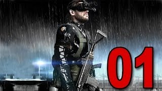 Metal Gear Solid V Ground Zeroes Part 1 Meet Snake Let S Play Walkthrough Playthrough PS4