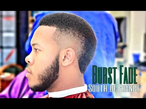 How To Cut A Burst Fade South Of France HD YouTube