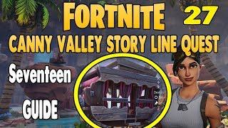 Seventeen │Canny Valley Story Mission │Fortnite Save The World │Mission 27
