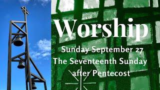 Sunday September 27, 2020