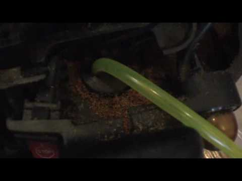 chainsaw fuel line hook up