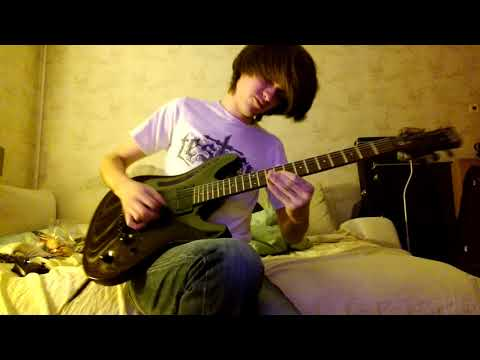Amon Amarth - War Of The Gods (lead guitar cover)