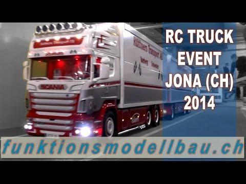 BEST OF RC TRUCK EVENT - 6. DRIVE SHOW IN JONA, SWITZERLAND 2014