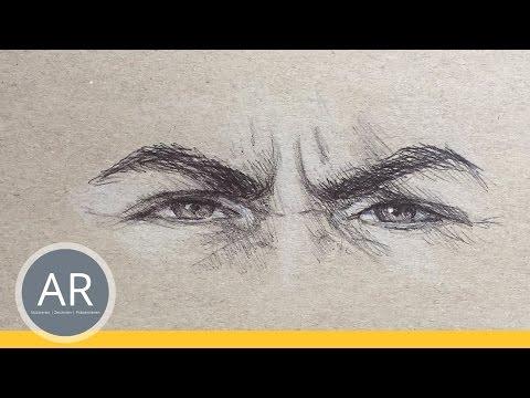 Augen zeichnen lernen. Emotionen vermitteln, 2 von 6. Mappenkurs Illustration
