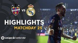 Highlights Levante Ud Vs Real Madrid  1-0