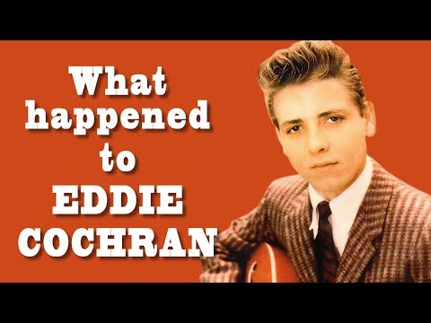 What happened to Eddie Cochran?