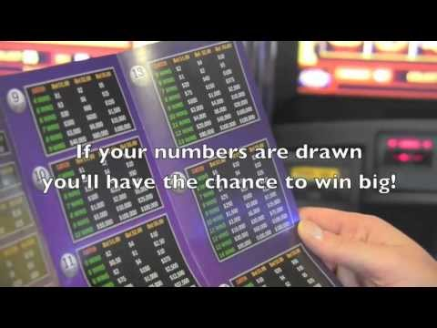 Keno at Newcastle Casino