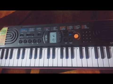 Chanda Sitare bindiya tumhari on Casio-Keyboard~Keyboard Cover~ EasyNotes for Beginners~Naseeb