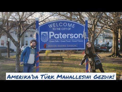 Amerika'da Türk Mahallesini Gezdik! | Paterson - New Jersey