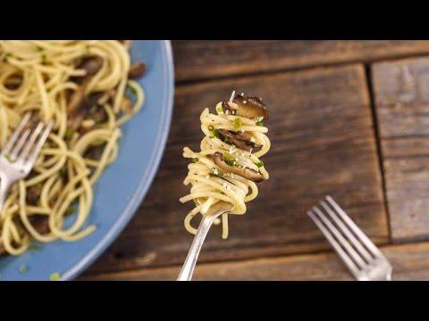Drunken Mushroom Spaghetti