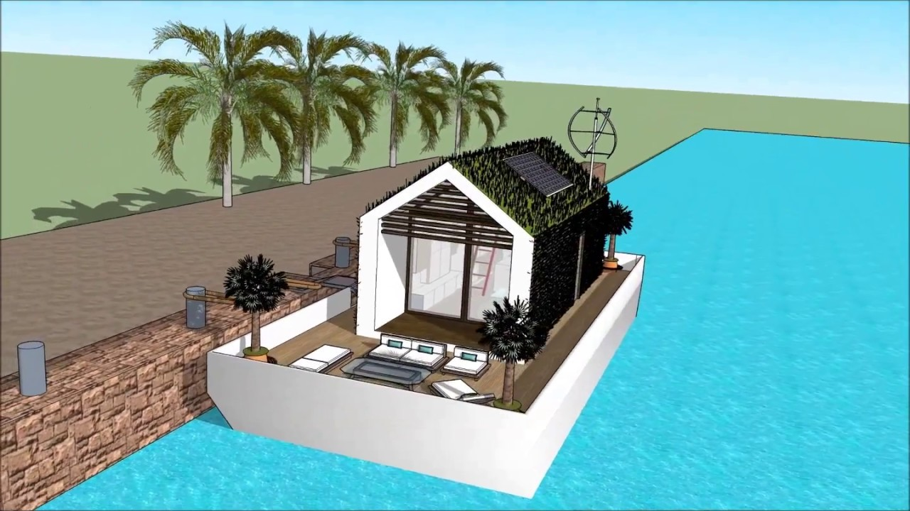 Di mac gyver casa galleggiante dubai barca ecosostenibile for Casa milano vendita