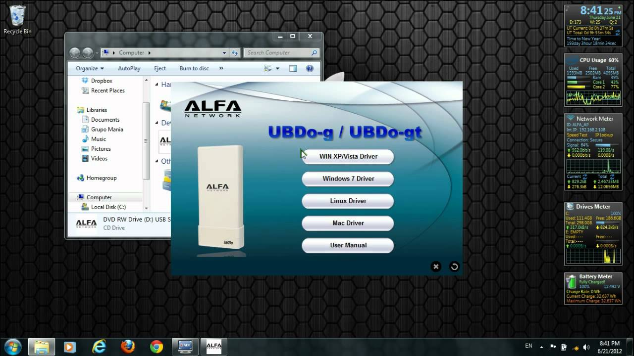 Alfa Network Wireless Usb Adapter Model Awus036h Driver Download