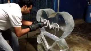 FIGURAS DE HIELO , ESCULTURAS DE HIELO EN MEXICO DF PABLO ICEMAN