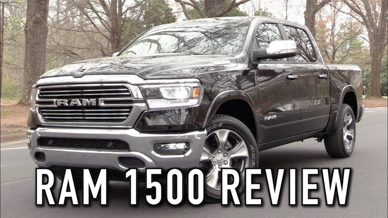 Black Ram 2500 Wheels >> 2019 Ram 1500 Laramie: Start Up, Test Drive & In Depth Review - YouTube