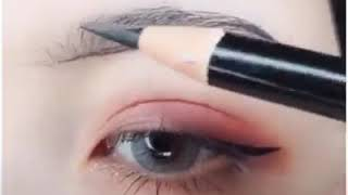 Cách vẽ chân mày và vẽ mắt nè mọi người nhu the nao