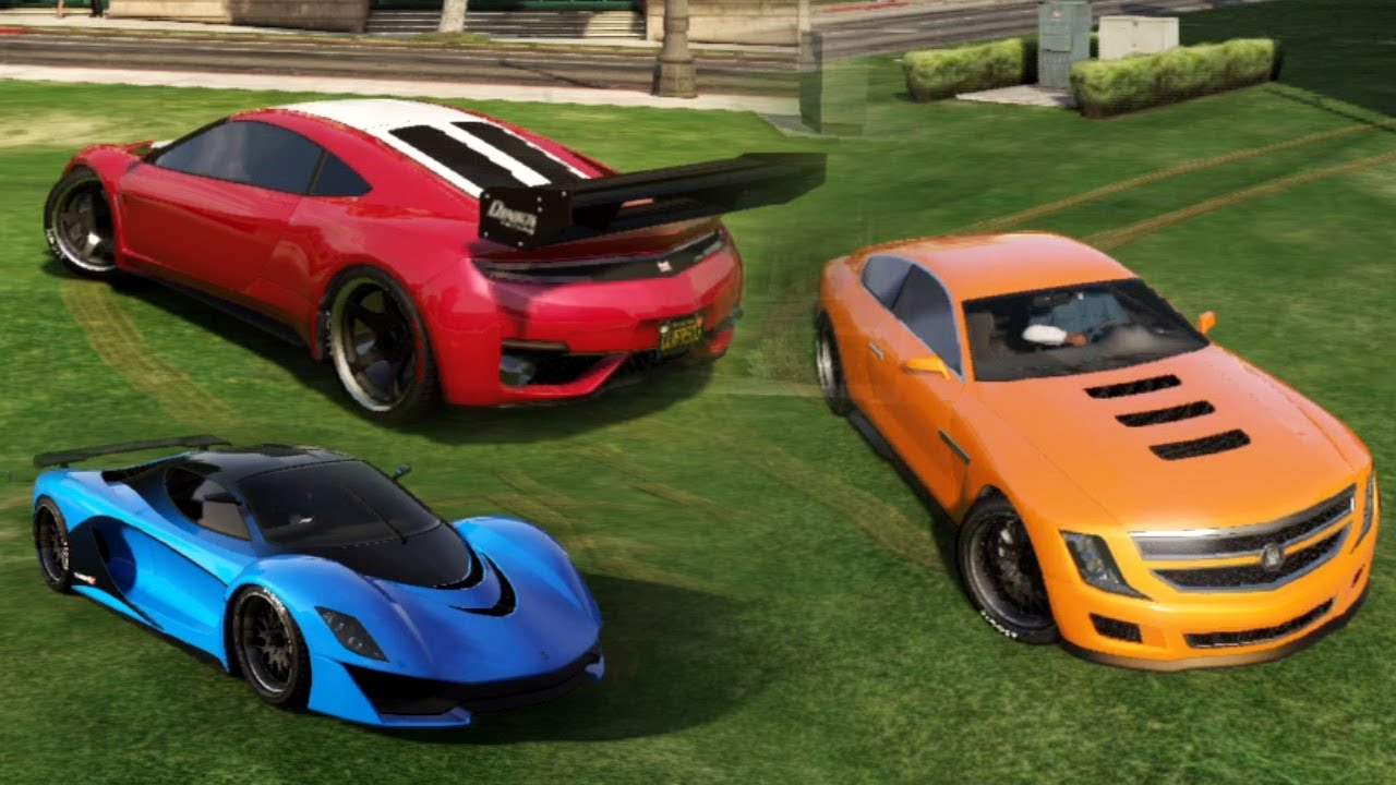 GTA V Online | Turismo R, Jester & Alpha Gameplay - YouTube