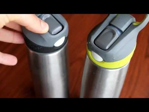 The Best Straw Stainless Steel Vacuum Insulated Water Bottle