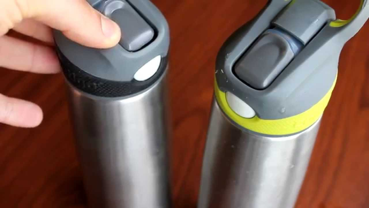The best straw stainless steel vacuum insulated water bottle youtube