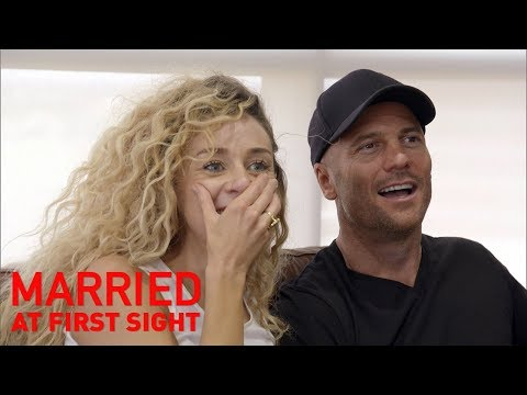 Heidi and Mike get emotional re-watching their wedding | MAFS 2019