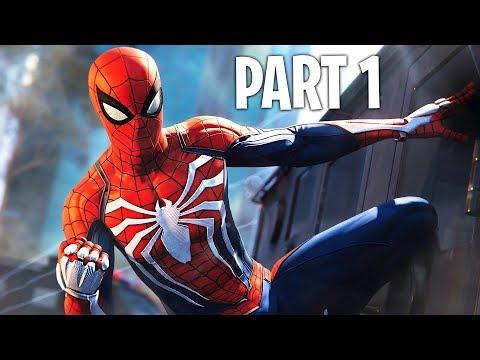 Spider Man PS4 Walkthrough Part 1 (Marvel's Spider-Man PS4 Pro Gameplay)