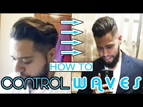 How To Control Waves Mens Hairstyling Tutorial Youtube