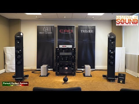 Wilson benesch CAD Trilogy Audio NEW Products chat Part 1 @ Festival of Sound 2018