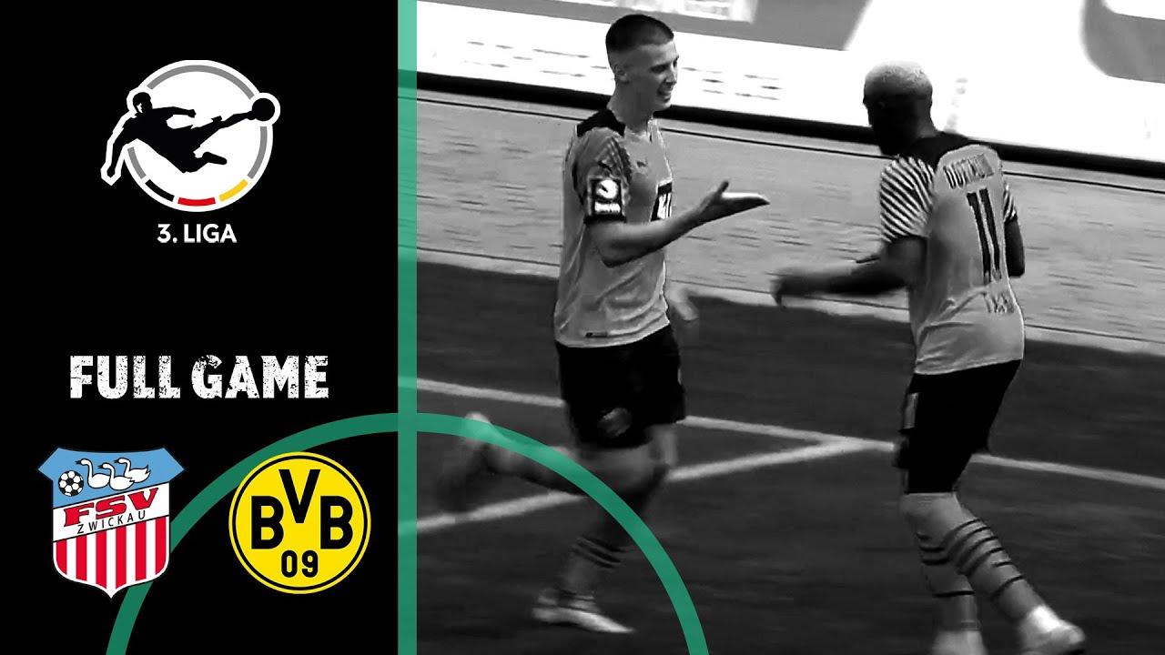 FSV Zwickau vs. Borussia Dortmund II 1-2   Full Game   3rd Division 2021/22   Matchday 1