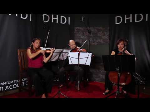 """""""Serenade op.10 for String Trio"""" Performed by The LA String Kollektiv   ZR Live! May 26th 2016"""