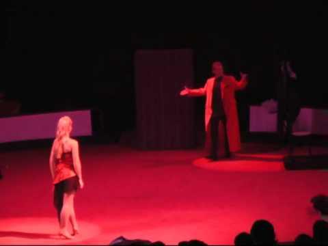 Sebastian & Kristina Quick Change Dance in Circus Sarasota