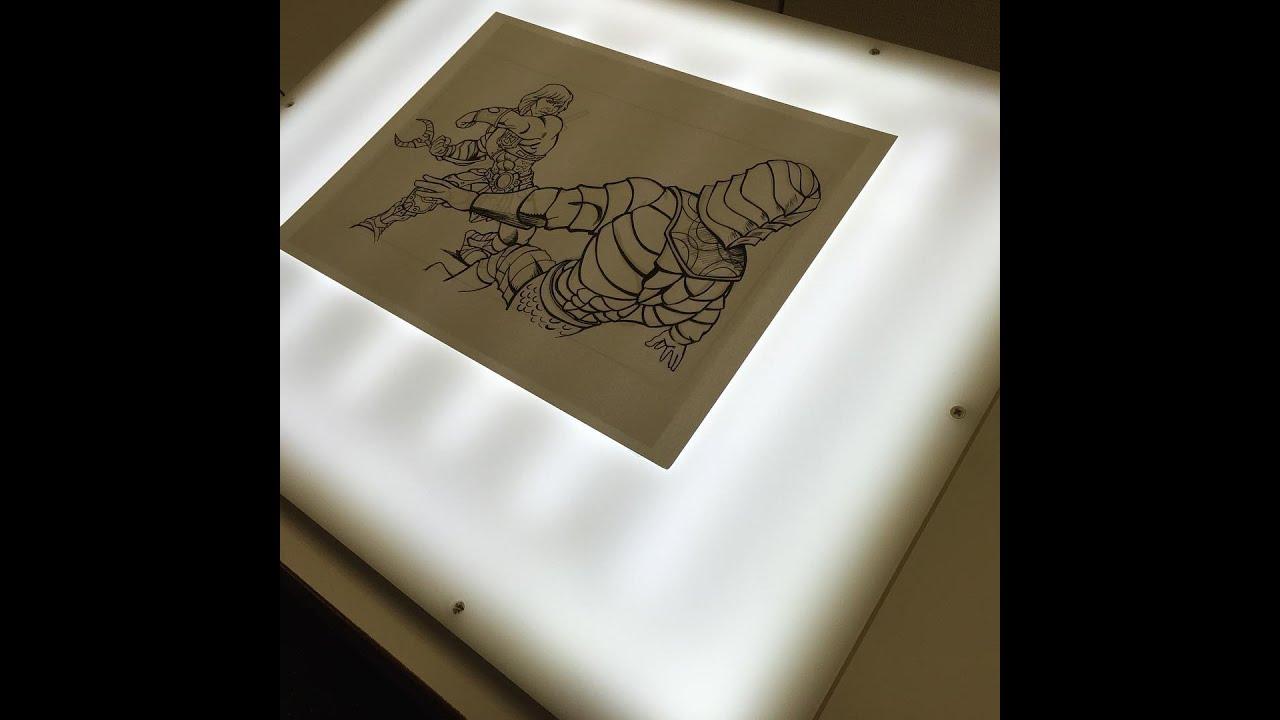 Portable Tracing Light Drafting Table
