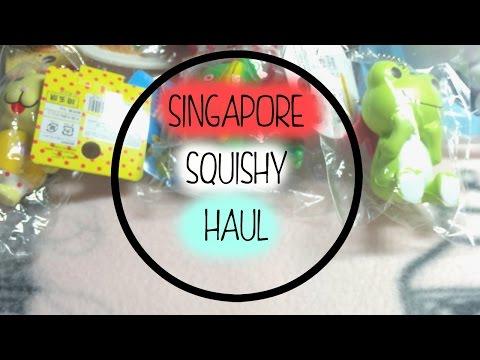 Ibloom Squishy Haul : Singapore Squishy Haul Ibloom,gudetama and more! - YouTube
