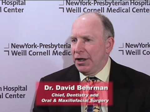 Reconstructive oral surgery and dental implants - Dr. David Behrman