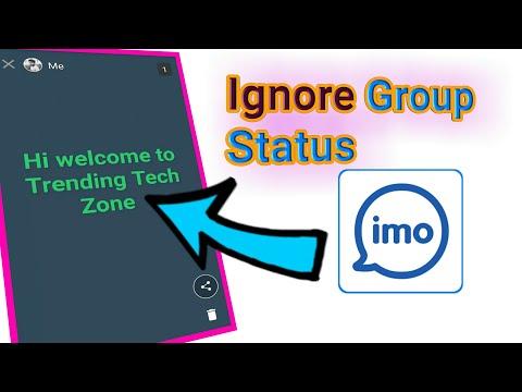 Ignore IMO Group Status || Trending Tech Zone ||