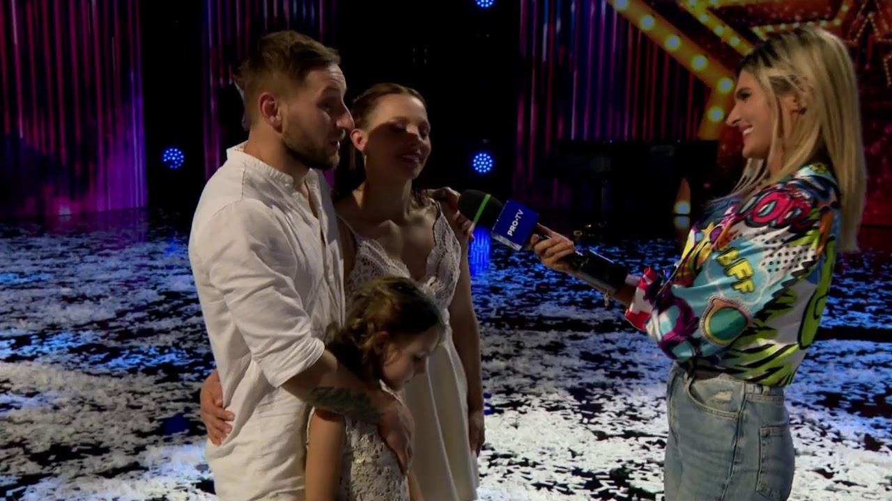Primele declarații ale celor cinci finaliști Românii au talent