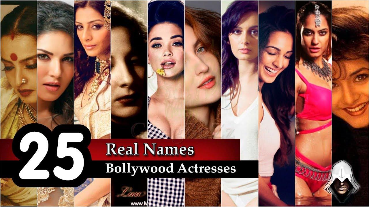 Bollywood Actress Real Names 30 Bollywood Actress S Real Names Shocking Real Names Youtube