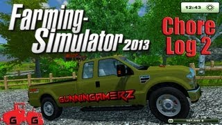Farming Simulator 2013: Chore Log 2 - Thirsty Critters(Continuing our series in Farming Simulator 2013! This episode features more new mods to the map and some new vehicle mods. We are mainly finishing the ..., 2013-09-10T04:18:00.000Z)
