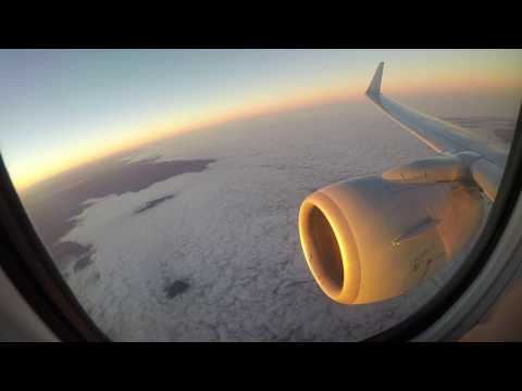 American Airlines Boeing 737-823 AA1598 Beautiful 4k Sunrise Takeoff  Ontario CA (KONT)