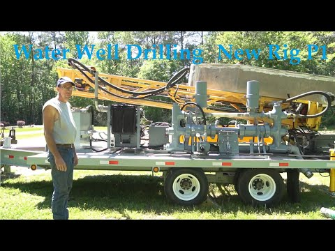 Water Well Drilling - Teme's New Rig - Part 1