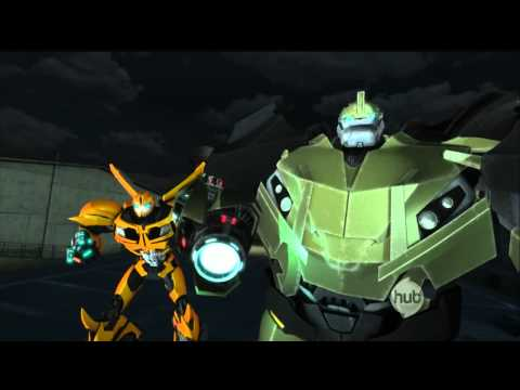 TFP: Bumblebee, Bulkhead and Arcee vs Breakdown and Knock Out