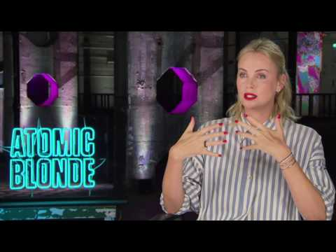 Atomic Blonde Charlize Theron Interview