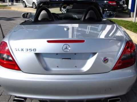 2009 mercedes benz slk class slk350 convertible for Mercedes benz of germantown md