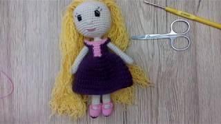 Как связать туфли для вязаной куклы крючком