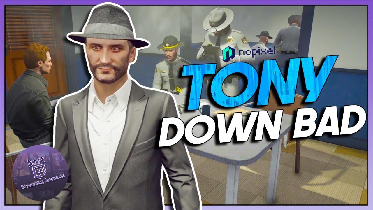 TONY GETS CAUGHT BIG TIME - BEST OF GTA RP #666 | NoPixel 3.0 Highlights