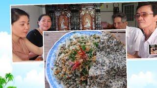 Vlog Ăn Vặt 48 ll Ngân Làm Hến Xúc Bánh Đa Cho Ba Mẹ Và Ông Ngoại Chồng Ăn Thử & Cái Kết