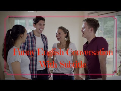 Funny English Conversation With Subtitle ● How to Improve Your English Skills Easy and Fast